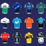 Image of team shirts